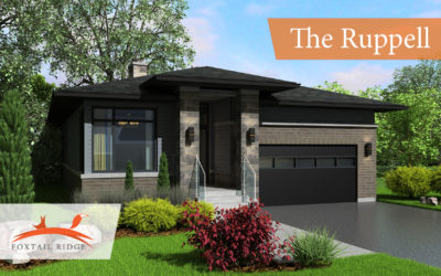 The Ruppell – LT 30 PRAIRIE RUN ROAD Colborne, Ontario, K0K1S0 – $469,000